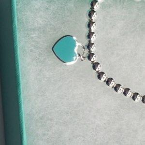 Tiffany & Co. Jewelry - Return to Tiffany Heart Tag Bead Bracelet